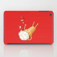 Ice Cream Fall iPad Case