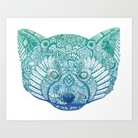 The Red Panda Project  Art Print