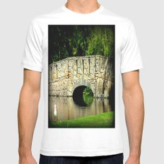 One Sunny Day Mens Fitted Tee White SMALL