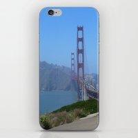 Golden Gate Bridge from the Presidio iPhone & iPod Skin