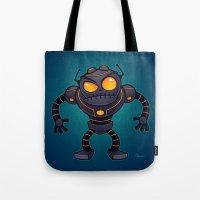 Angry Robot Tote Bag