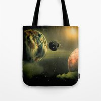Space One Tote Bag