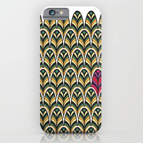 Rubine Feather iPhone & iPod Case