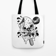 IceCream-Hurt-black Tote Bag