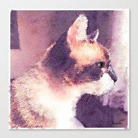 Cat Nick Canvas Print