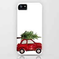 Red Christmas Beetle  iPhone (5, 5s) Slim Case