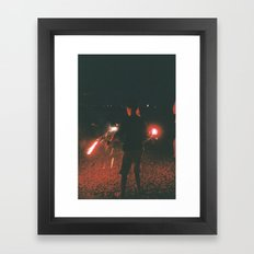 Youth in July Framed Art Print
