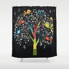 Song Birds Shower Curtain