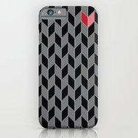 iPhone & iPod Case featuring Heart Pattern by Robert Karpati