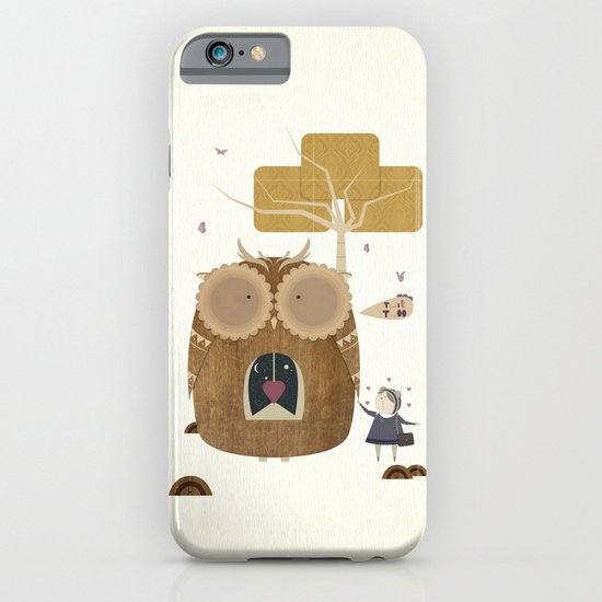 My Owl and Me iPhone & iPod Case