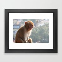 Thinking Of You All Day Framed Art Print