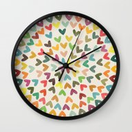 Wall Clock featuring Love Is All Around by Budi Kwan