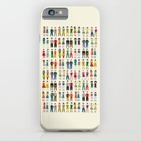 iPhone & iPod Case featuring Identical Twins by Judy Kaufmann