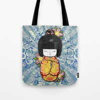 Horror Vacui - Kokeshi01 Tote Bag