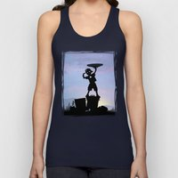 Captain Kid Unisex Tank Top