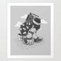 Original Bboy Art Print
