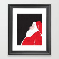 Christmas Be Good Sans C… Framed Art Print