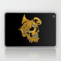 Real Brass Laptop & iPad Skin