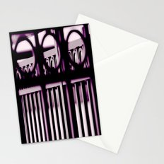 Rails and Circles Stationery Cards