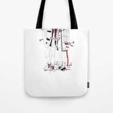 When sight is restricted, vision becomes clear. Tote Bag