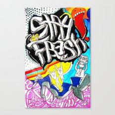 Stay Fresh Canvas Print