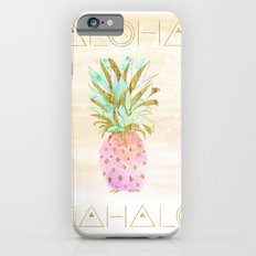 Aloha Pineapple iPhone 6 Slim Case