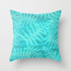 palm breeze Throw Pillow