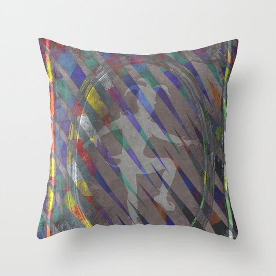 The Jester Throw Pillow
