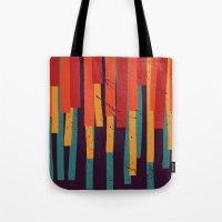 Squared Stripes Tote Bag