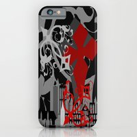 iPhone Cases featuring Gothic Trance by Trippin Up