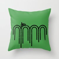 Kickstart Throw Pillow