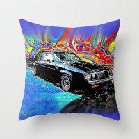 Buick Grand National Throw Pillow