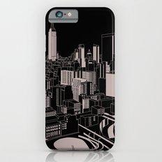 New York Black and White iPhone 6 Slim Case