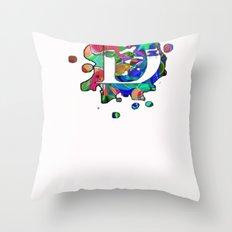 D Delta Throw Pillow