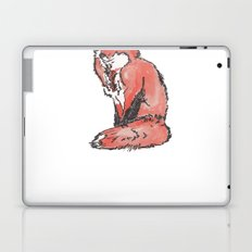 Fox Watercolour Laptop & iPad Skin