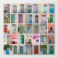 Door Collection Canvas Print