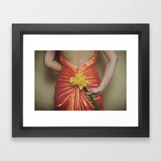 fleurs de printemps Framed Art Print