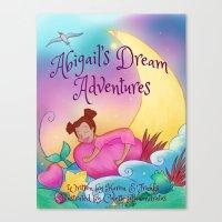 Abigail's Dream Adventures Canvas Print
