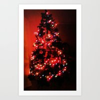 Christmas Tree. Art Print