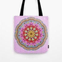 Mix&Match;  Pretty Pink Mandala Meditation pillow 02 Tote Bag
