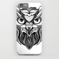 Owl - Drawing iPhone 6 Slim Case