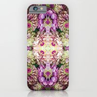iPhone & iPod Case featuring Dark floral by Laura Ruxton