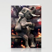 Let It All Burn Stationery Cards