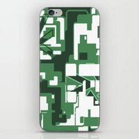 The Green City iPhone & iPod Skin