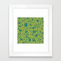 Synapses Framed Art Print