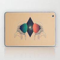 Space Between Laptop & iPad Skin