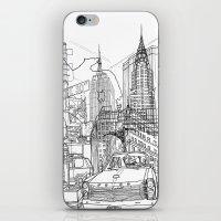 New York! B&W iPhone & iPod Skin