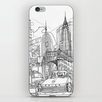 New York! B&W iPhone & iPod Skin