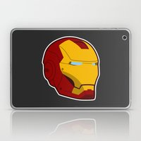 He Doesn't Play Well Wit… Laptop & iPad Skin