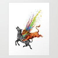 Kill Monotony Art Print